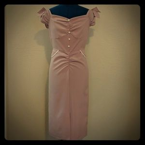 Stop Staring pin up vintage style dress